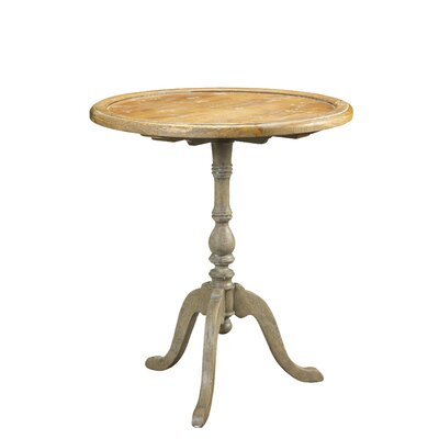French Accents Round End Table