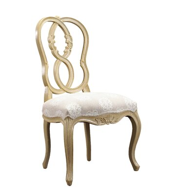 Parc Saint-Germain Side Chair Finish: Beige / Light Sand