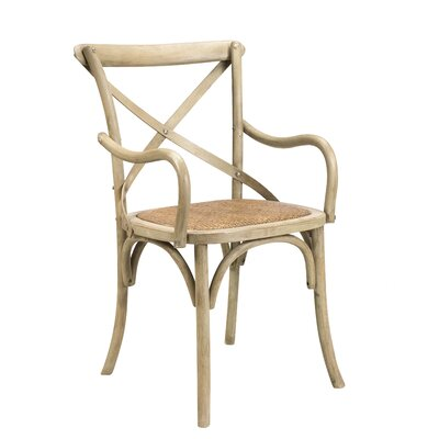 Longworth Solid Wood Dining Chair Finish: Driftwood Cream