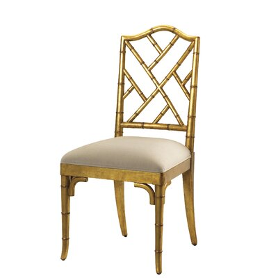 Pyrenees Side Chair Finish: Gold