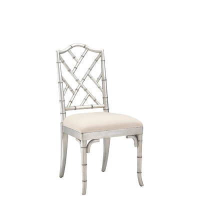 Eastridge Solid Wood Dining Chair Color: Silver