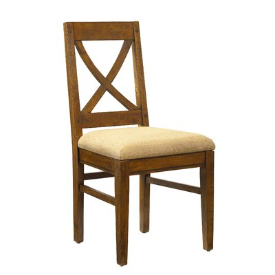 Pyrenees Side Chair Finish: Coffee Brown