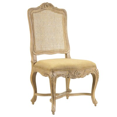 Furniture-Regence Side Chair Finish Gold