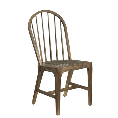 Plaisance Solid Wood Dining Chair Finish: Brown Timberwood