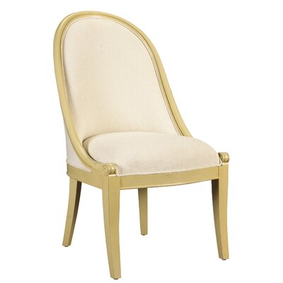 Parc Saint-Germain Sorrell Upholstered Dining Chair Upholstery: Beige