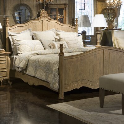 Modernly Classic King Platform Bed