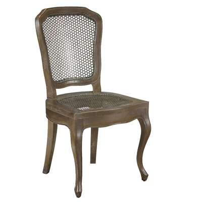 Plaisance Solid Wood Dining Chair Finish: Taupe Brown