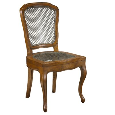 Plaisance Solid Wood Dining Chair Finish: Coffee Brown