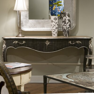 Parc Saint-Germain Console Table Finish: Silver