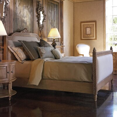 Lilles Panel Bed Size: Queen, Finish: Natural