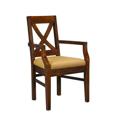 Pyrenees Arm Chair Finish: Driftwood Brown