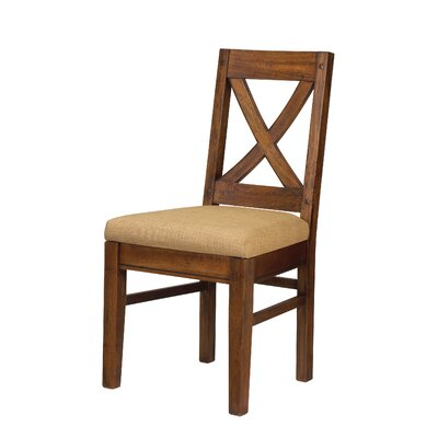 Pyrenees Side Chair Finish: Driftwood Brown