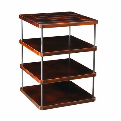 Kapono End Table Color: Black/Antique Cherry