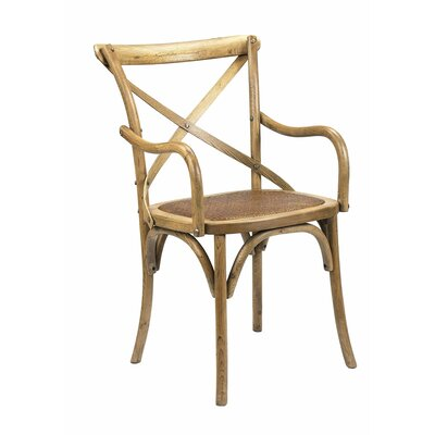 Bosquet Solid Wood Dining Chair Finish: Light Oak