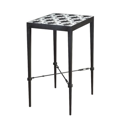 Coinde Palm Micro Mosaic End Table