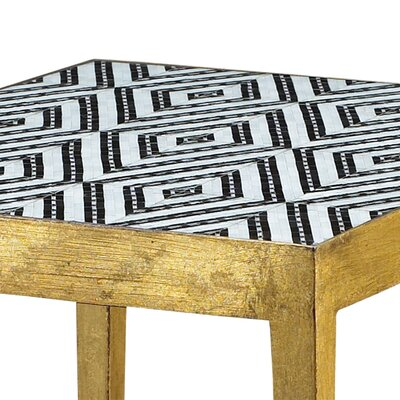 Cohutta Diamond Micro Mosaic End Table