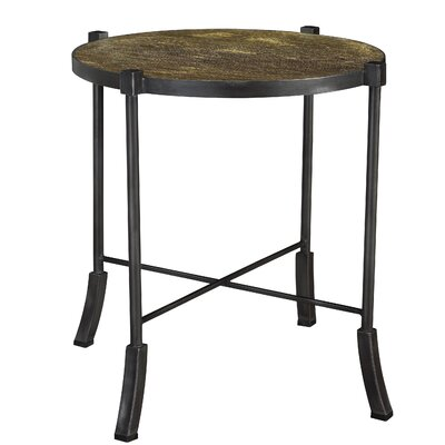 Coglin Swerve Round End Table