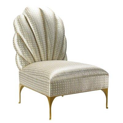 Kepler Hanky Panky Slipper Chair Upholstery: Linen