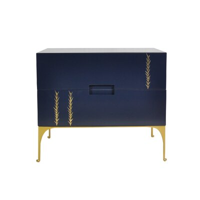 Kepler Martini Nightstand Color: Midnight