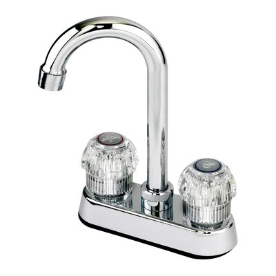 Double Handle Centerset Kitchen Bar Faucet