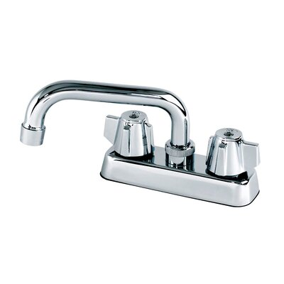 Double Handle Centerset Laundry Faucet