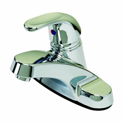 Basic Single Handle Centerset Bathroom Faucet