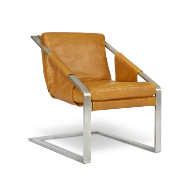 Eiffel Armchair Finish: Steel, Color: Maxima Metal