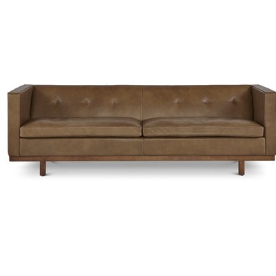 Hayes Leather Chesterfield Sofa
