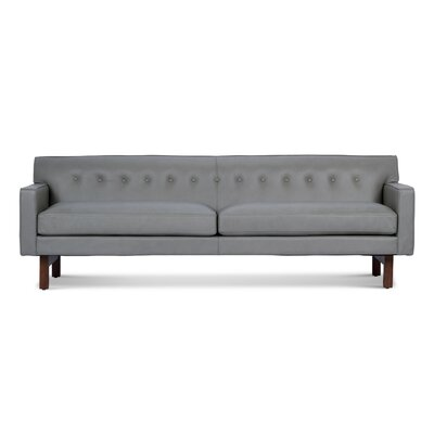 Coughlin Leather Sofa Upholstery: Storm