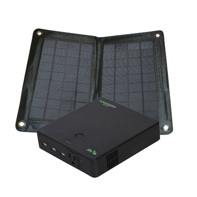 Nature Power Power Bank Elite Folding Solar Panel with Rechargeable Battery Bank at Sears.com