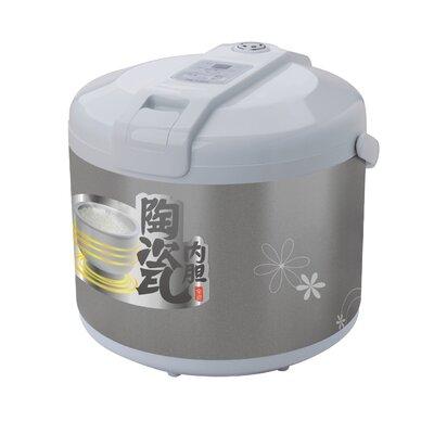 Ceramic Rice Cooker Size: 6 Cups RCTJ300S