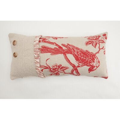 Bird Three Part Down Lumbar Pillow
