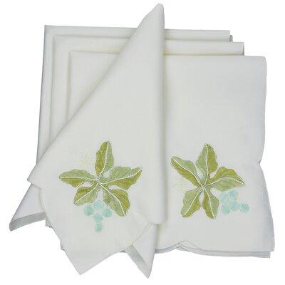 Xia Home Fashions Vineyard Embroidered Cutwork Napkin (Set of 4) at Sears.com