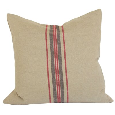Stripe Decorative Linen Throw Pillow
