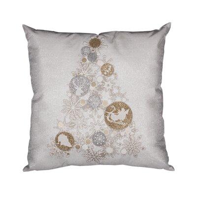 Octavian Ornament Tree Christmas Throw Pillow