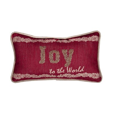 Altagore Joy to the World Christmas�Lumber Pillow