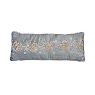 Cheraw Pine Cone Christmas Lumbar Pillow