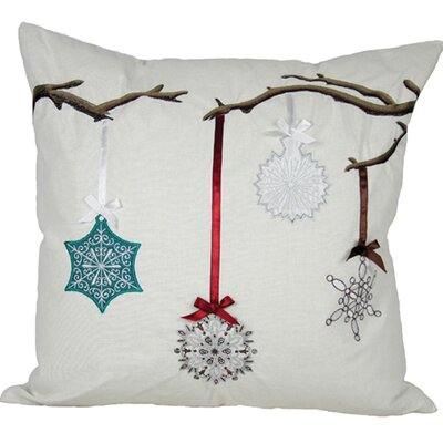 Limb Ornament Accents Throw Pillow Fill Type: Feather Fill