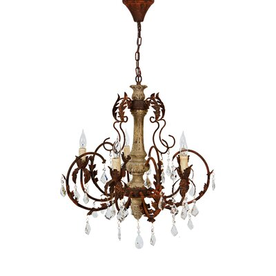 Beaumont 5-Light Crystal Chandelier