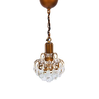 Bloom 1-Light Crystal Pendant
