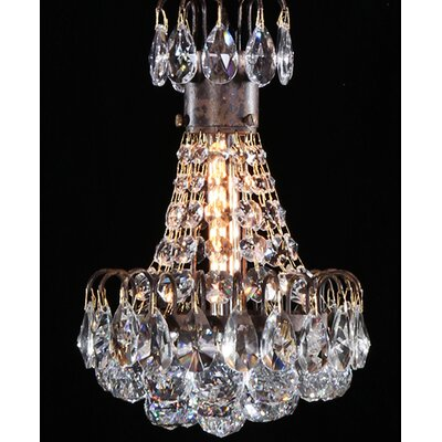 Bouquet 1-Light Crystal Pendant