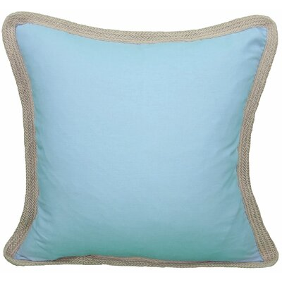 Classic Throw Pillow Color: Blue, Fill: Feather