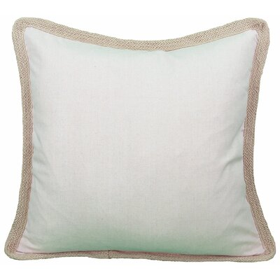 Classic Throw Pillow Color: Natural, Fill: Polyester