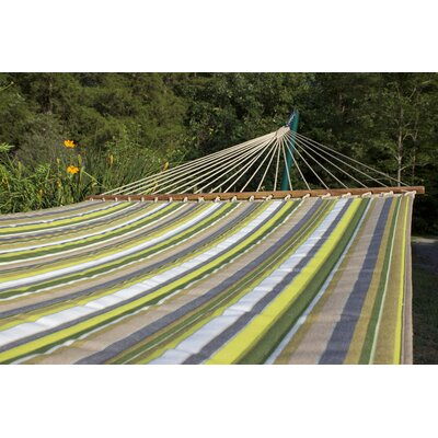 Sunbrella Quilted Tree Hammock Color: Limelite