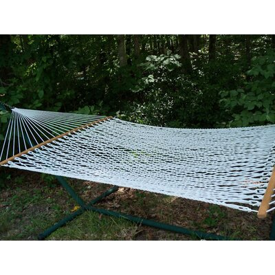 Olefin Rope Tree Hammock Color: White