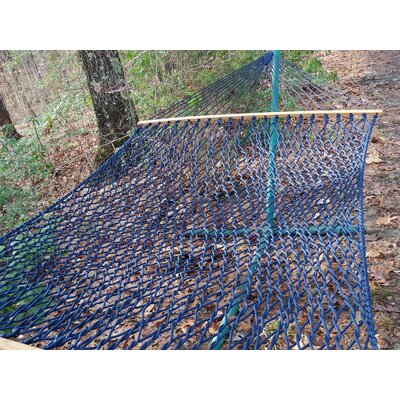 Olefin Rope Tree Hammock Color: Navy