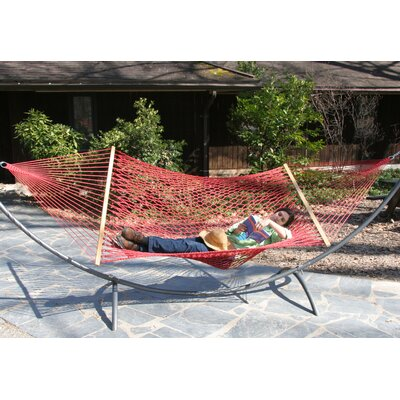 Olefin Rope Tree Hammock Color: Cranberry