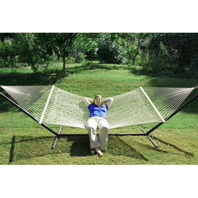 Olefin Rope Tree Hammock Color: Lambswool
