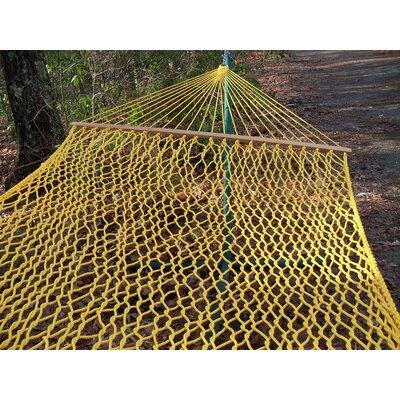 Olefin Rope Tree Hammock Color: Lemon