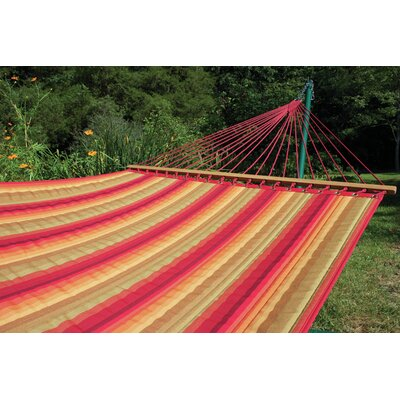 Sunbrella Quilted Tree Hammock Color: Scarlet